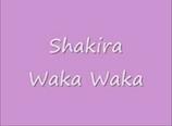 Waka Waka by Shakira