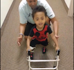Kaydens Kinckle 1st Steps With Walker by Himself